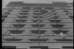 United States Treasury building in New York City stock video footage