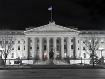 United States Treasury Building - Washingting DC Royalty Free Stock Image