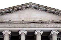 United States Treasury Department Stock Image