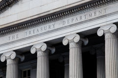 United States Treasury Department Royalty Free Stock Photography