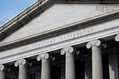 United States Treasury Department Royalty Free Stock Photos