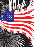 United States vector flag Stock Photos