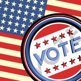 United States vote Royalty Free Stock Images