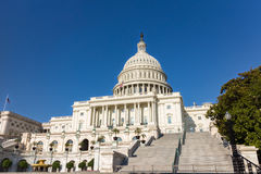 The United Statues Capitol Building. Royalty Free Stock Images