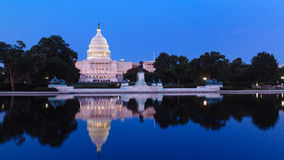 The United Statues Capitol. Stock Photos