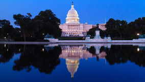 The United Statues Capitol. Royalty Free Stock Images