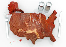 United Steaks of America Royalty Free Stock Images