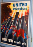 United Strong Poster Royalty Free Stock Photos