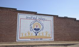 United Way of America Established 1955. United Way of America Established in 1955, is now United Way Worldwide based in Alexandria, Virginia, is a nonprofit stock images