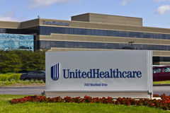 UnitedHealthcare Indiana Headquarters II Stock Images