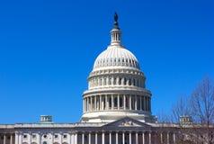 Unites States Capitol in Washington DC, USA. Royalty Free Stock Photos