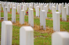 Unites States Military Memorial Grave Site Royalty Free Stock Image