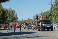 Unites States military veterans Royalty Free Stock Photo