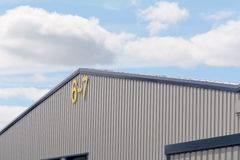 Units 6 and 7 on industrial estate Royalty Free Stock Image