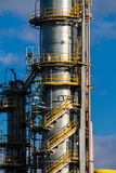 Units for nitric acid production on fertilizer plant Stock Photos