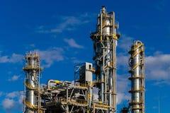 Units for nitric acid production on fertilizer plant Royalty Free Stock Photography