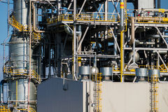 Units for nitric acid production on fertilizer plant Stock Photo