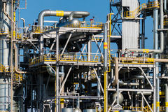 Units for nitric acid production on fertilizer plant Royalty Free Stock Images