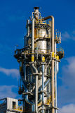 Units for nitric acid production on fertilizer plant Royalty Free Stock Photo