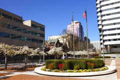 Unitus Plaza Downtown Portland OR. Royalty Free Stock Photography