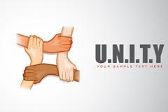 Unity Background Stock Photo