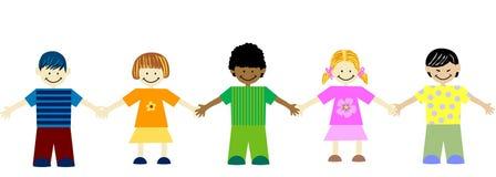 Unity in diversity Stock Image