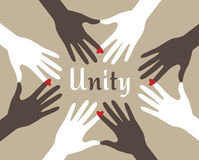 Unity Hands Abstract Stock Photography