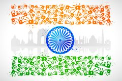 Unity of India Stock Photography