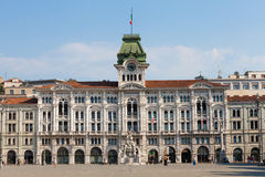 Unity of Italy Square Trieste, Italy Royalty Free Stock Photography