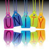 Unity tags stock photography