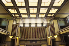 Unity Temple in Oak Park Royalty Free Stock Image