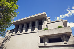 Unity Temple in Oak Park Stock Photo