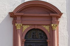 Univercity entrance royalty free stock images