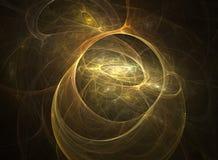 Univers abstrait de fractale Photos libres de droits
