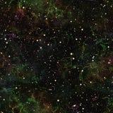 Univers coloré foncé abstrait Ciel étoilé d'été de nuit Espace extra-atmosphérique multicolore Fond de texture Vecteur sans joint illustration de vecteur