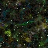 Univers coloré foncé abstrait Ciel étoilé de nuit de nébuleuse Espace extra-atmosphérique multicolore Fond de texture Vecteur san illustration stock