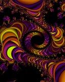 Univers de fractale illustration de vecteur