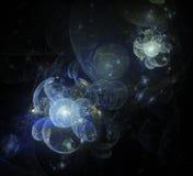 univers de la fleur 3d Image libre de droits