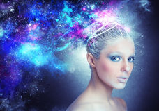 Univers de Madame Image stock