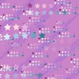 Univers de vecteur de maille de gradient de couleur de fond de contexte de licorne illustration libre de droits
