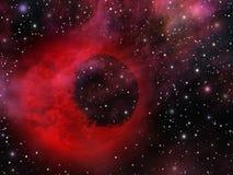 Univers mystique avec de planète étrange Photographie stock