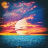 Univers parallèle Image libre de droits