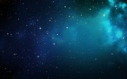 Univers rempli d'étoiles Photo libre de droits