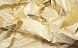 Universal abstract background. Of gold color Royalty Free Stock Image