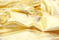 Universal abstract background. Of gold color Stock Image