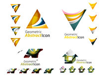 Universal abstract geometric shapes - business Royalty Free Stock Photos