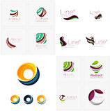 Universal abstract geometric shapes - business Stock Photography