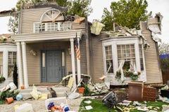 Universal Airplane Crash Scene Royalty Free Stock Images