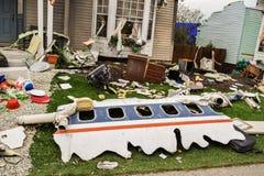Universal Airplane Crash Scene Royalty Free Stock Photos