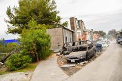Universal Airplane Crash Scene Royalty Free Stock Image